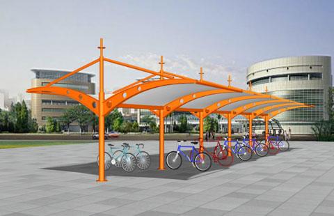 自行车棚膜结构.1